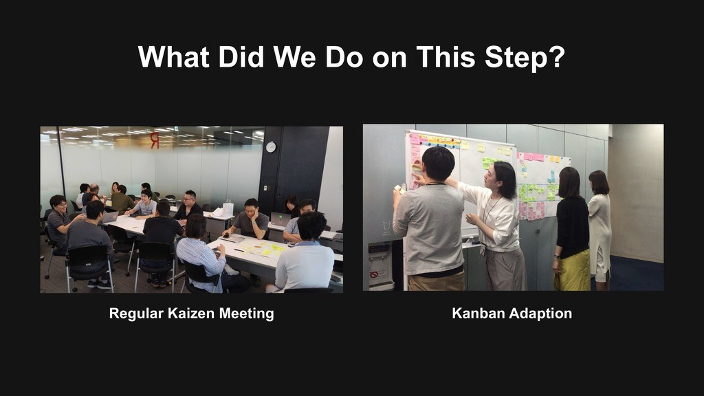 Kanban Adaption Regular Kaizen Meeting What Did...