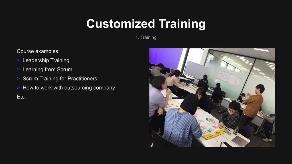 Customized Training Course examples: > Leadersh...