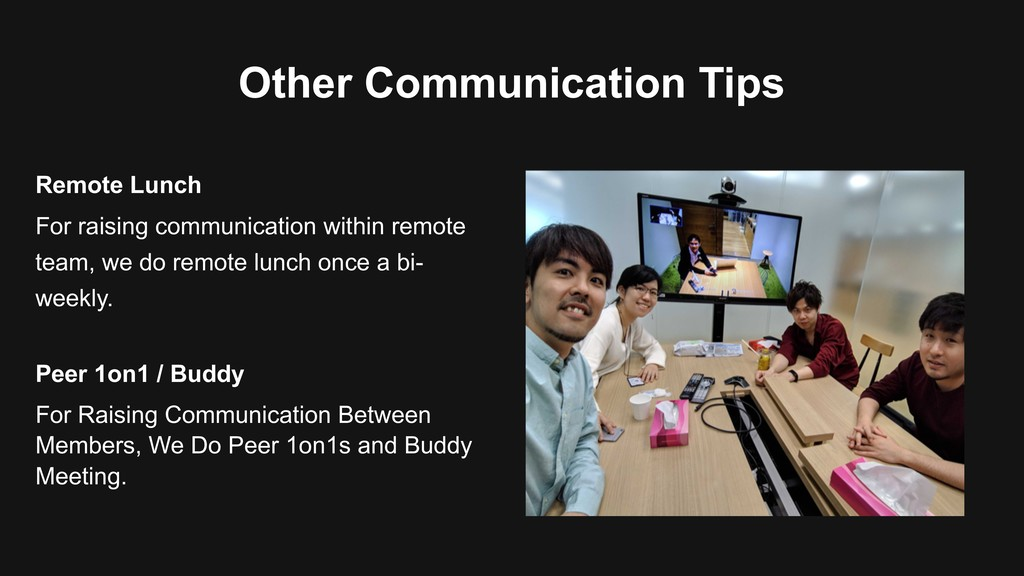 Other Communication Tips For raising communicat...