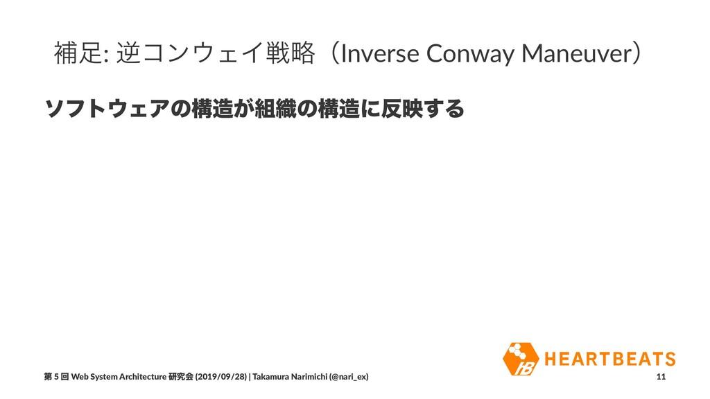 ิ: ٯίϯΣΠઓུʢInverse Conway Maneuverʣ ιϑτΣΞͷߏ...