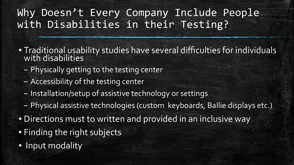 Why Doesn't Every Company Include People with D...