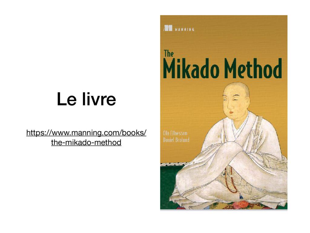 Le livre https://www.manning.com/books/ the-mik...