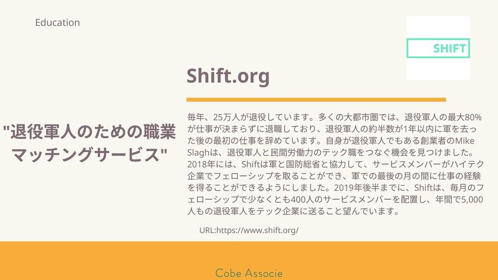 モールソン&フラー 築2020 Shift.org 年、25 万 が しています。 くの⼤都 ...