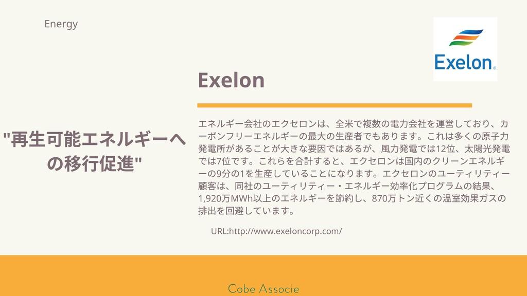 モールソン&フラー 築2020 Exelon エネルギー のエクセロンは、 ⽶で の電⼒ を ...