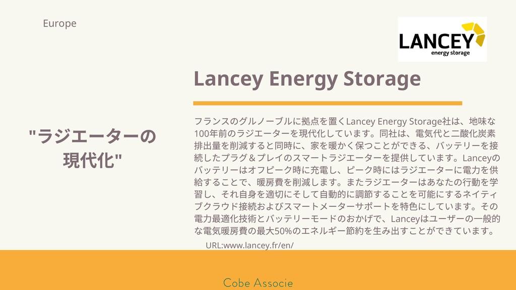 モールソン&フラー 築2020 Lancey Energy Storage フランスのグルノー...