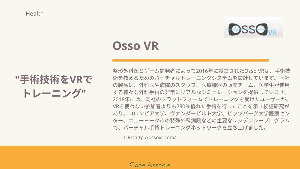 モールソン&フラー 築2020 Osso VR 形 科 とゲーム開発者によって2016 年に ...