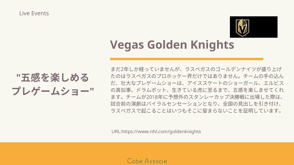 モールソン&フラー 築2020 Vegas Golden Knights まだ2 年しか って...