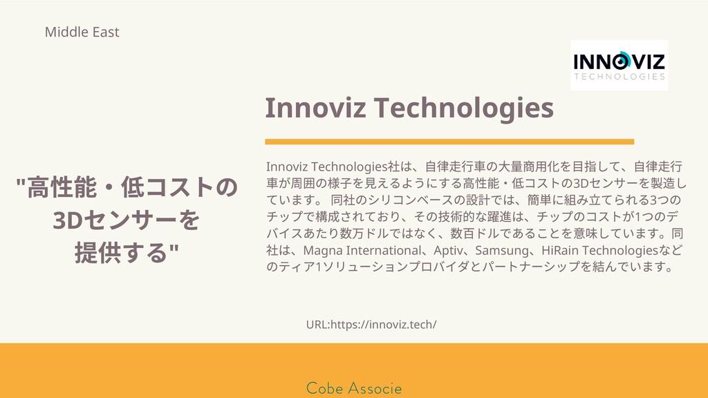 モールソン&フラー 築2020 Innoviz Technologies Innoviz Te...