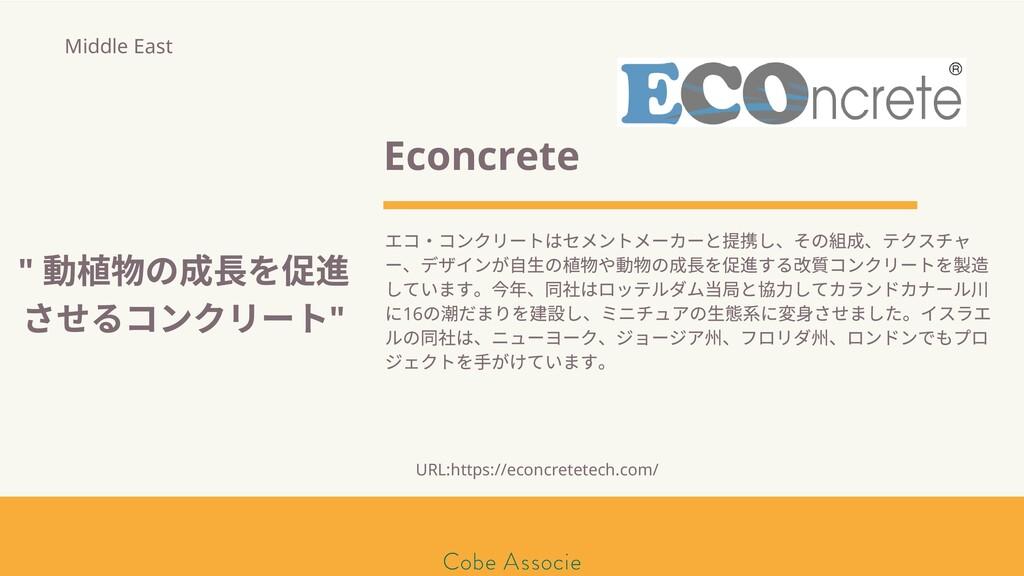 モールソン&フラー 築2020 Econcrete エコ・コンクリートはセメントメーカーと提 ...