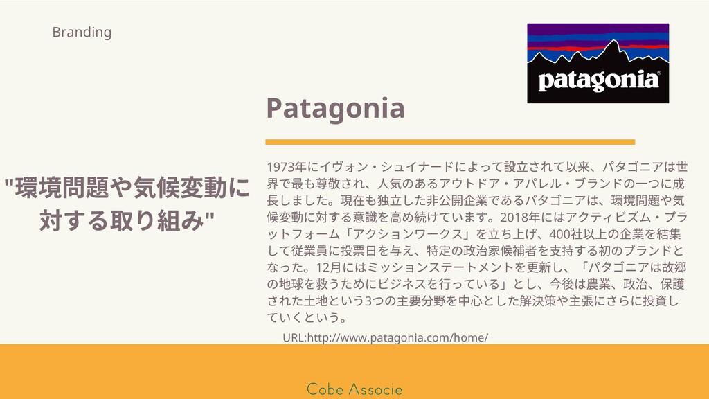 Patagonia 1973 年にイヴォン・シュイナードによって 立されて 来、パタゴニアは ...