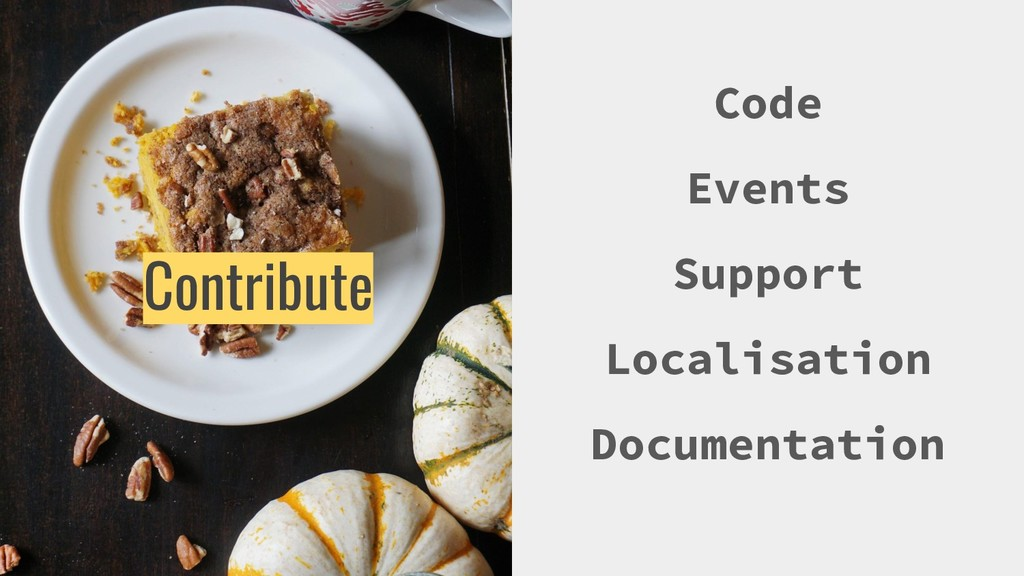 Code Events Support Localisation Documentation ...