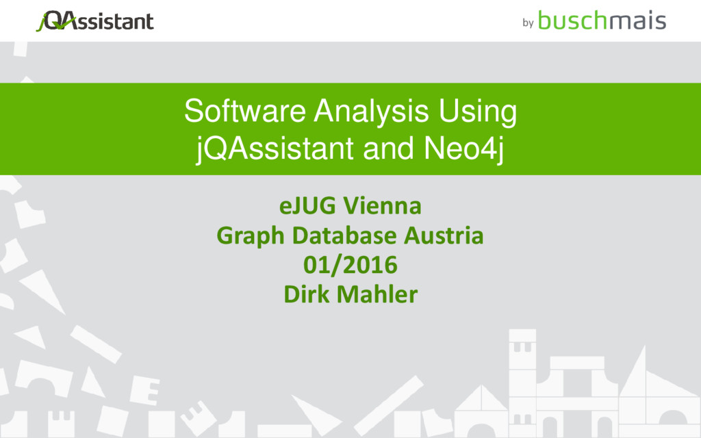 by Software Analysis Using jQAssistant and Neo4...