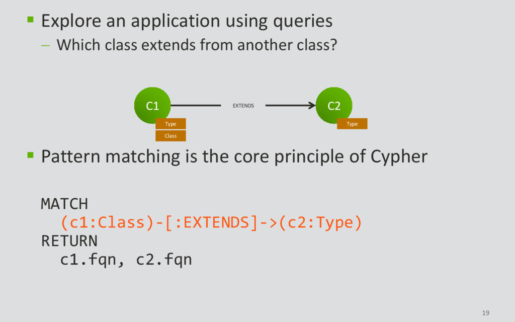 19  Explore an application using queries  Whi...