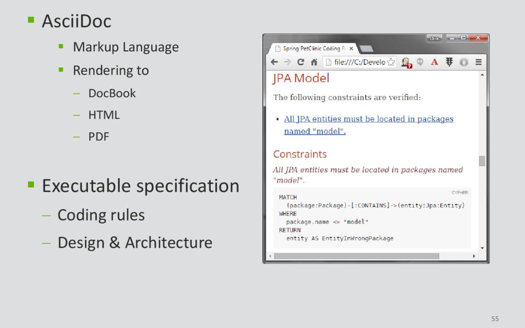 55  AsciiDoc  Markup Language  Rendering to ...