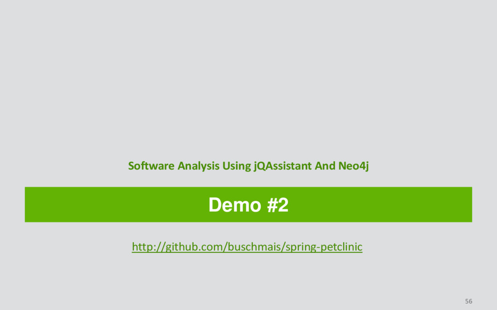 Demo #2 Software Analysis Using jQAssistant And...