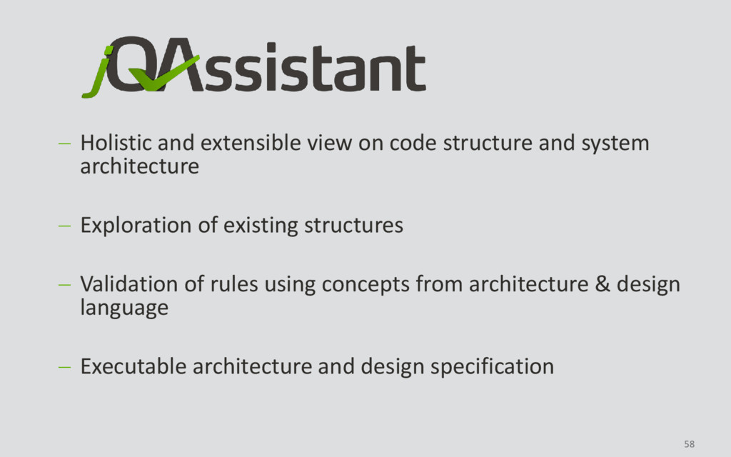 58  Holistic and extensible view on code struc...
