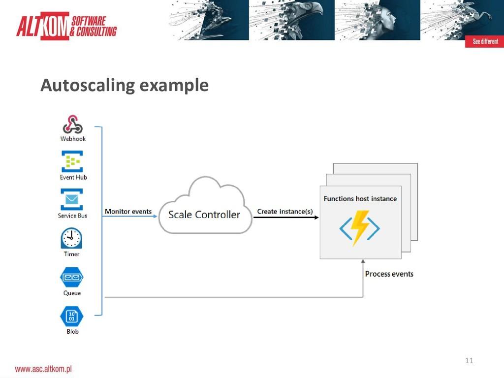 11 Autoscaling example