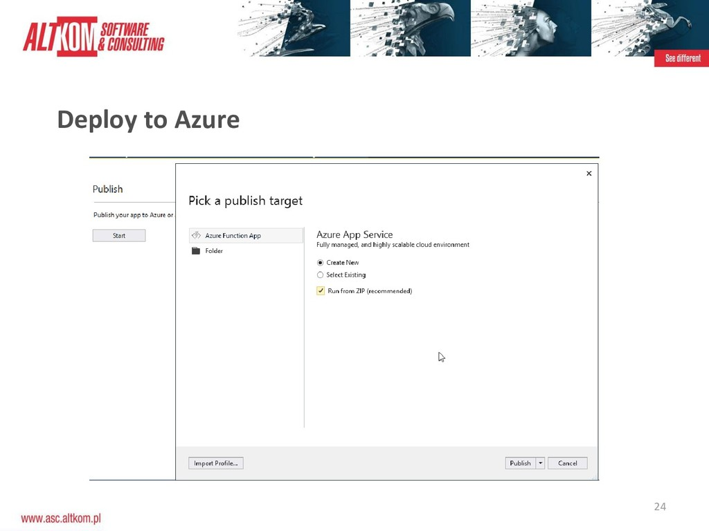 24 Deploy to Azure