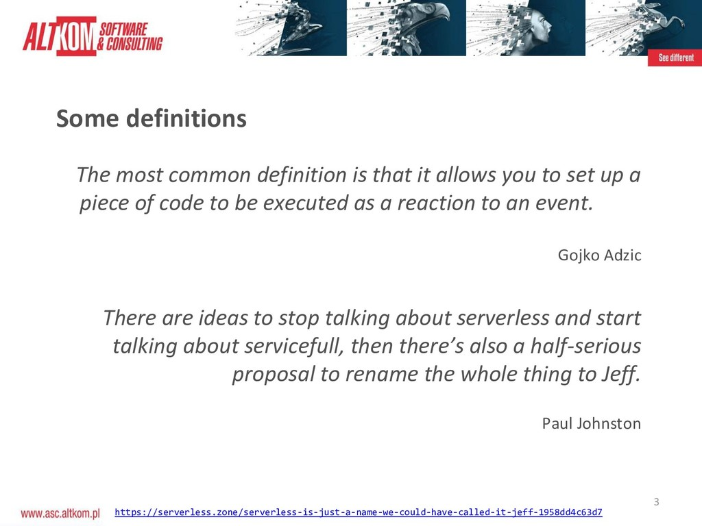 3 Some definitions The most common definition i...