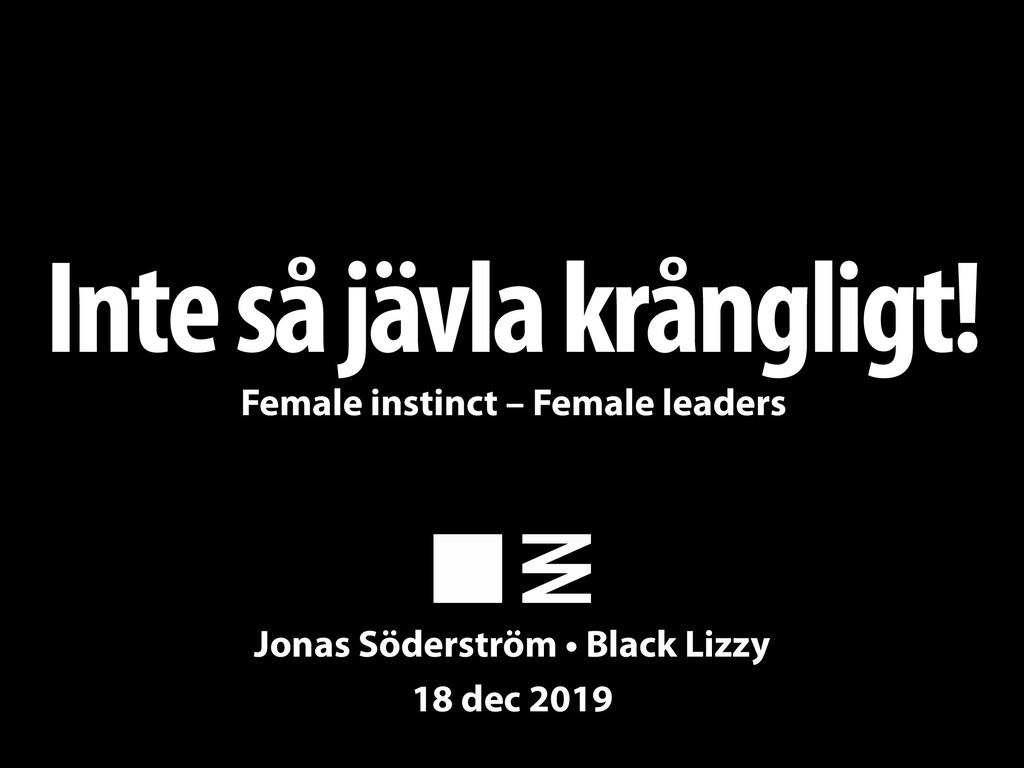 Inte så jävla krångligt! Jonas Söderström • Bla...