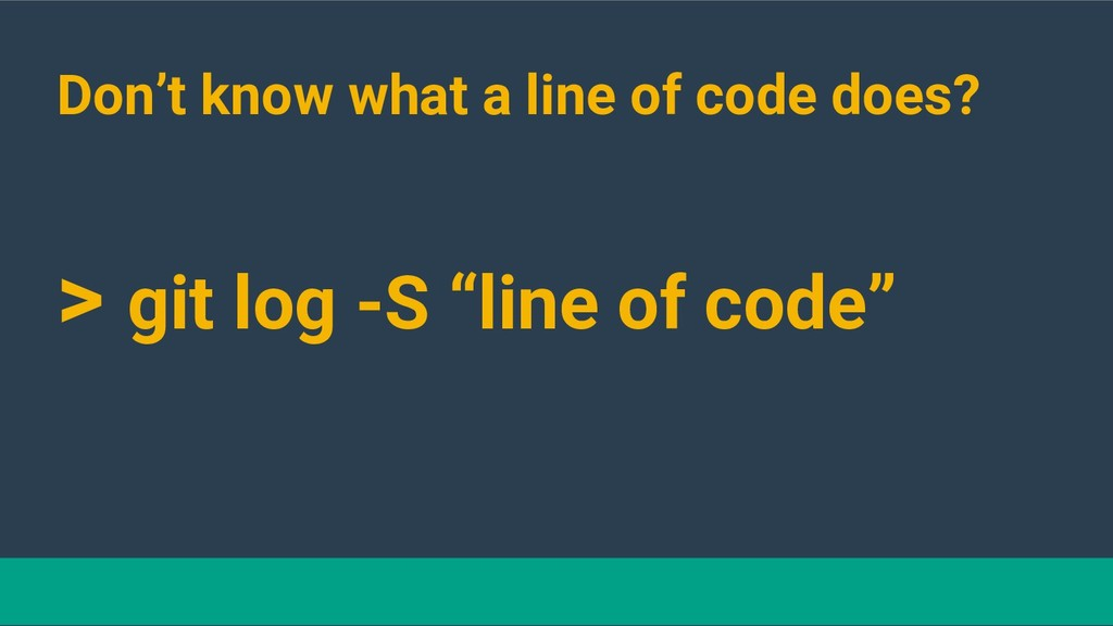 @hackerkid Don't know what a line of code does?...