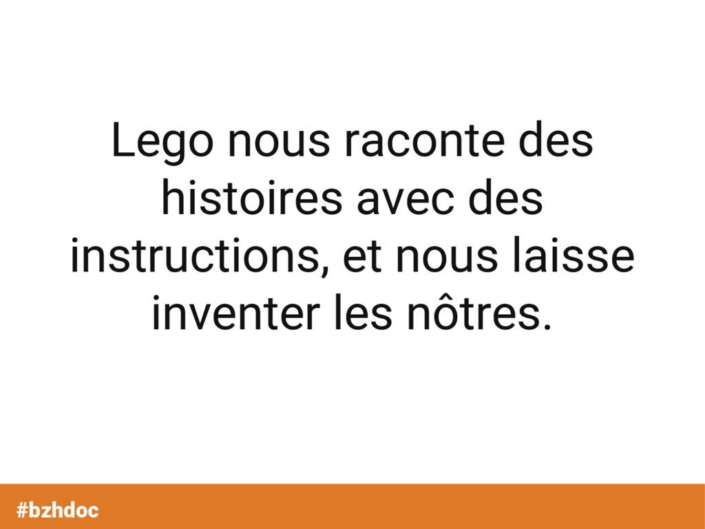 #bzhdoc Lego nous raconte des histoires avec de...