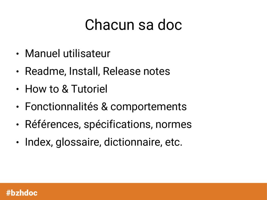 #bzhdoc Chacun sa doc ● Manuel utilisateur ● Re...
