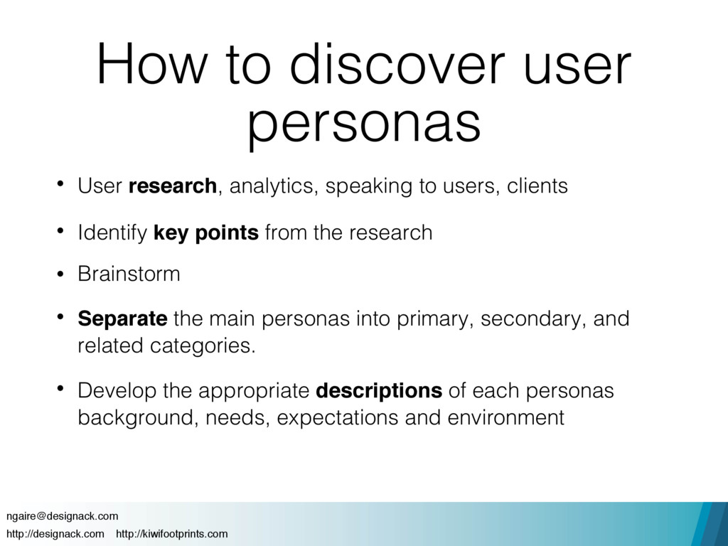 How to discover user personas • User research, ...