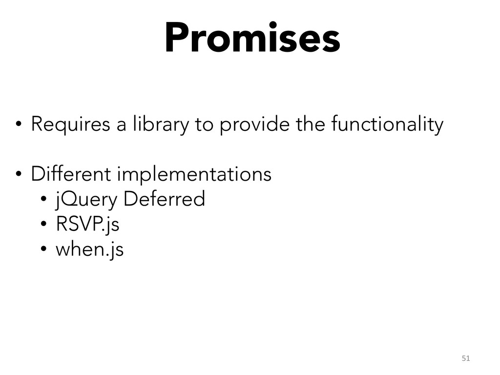 Promises