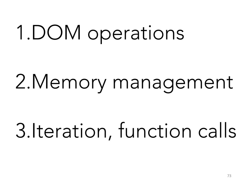 1. DOM operations