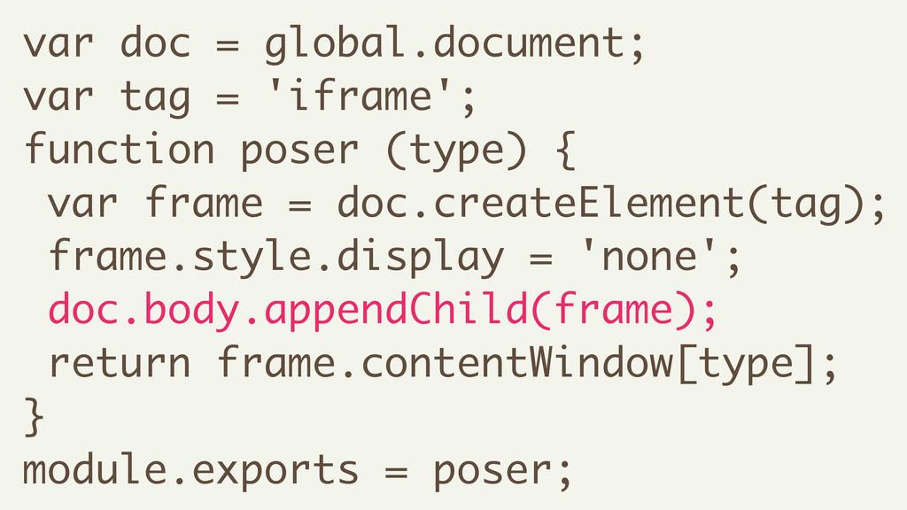var doc = global.document; var tag = 'iframe'; ...