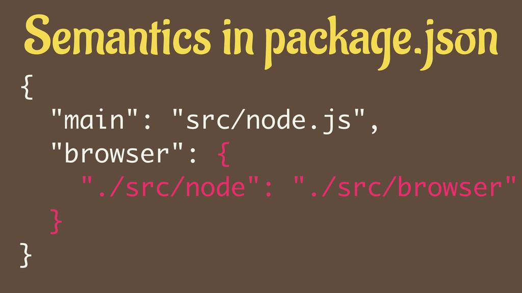 """{ """"main"""": """"src/node.js"""", """"browser"""": { """"./src/no..."""