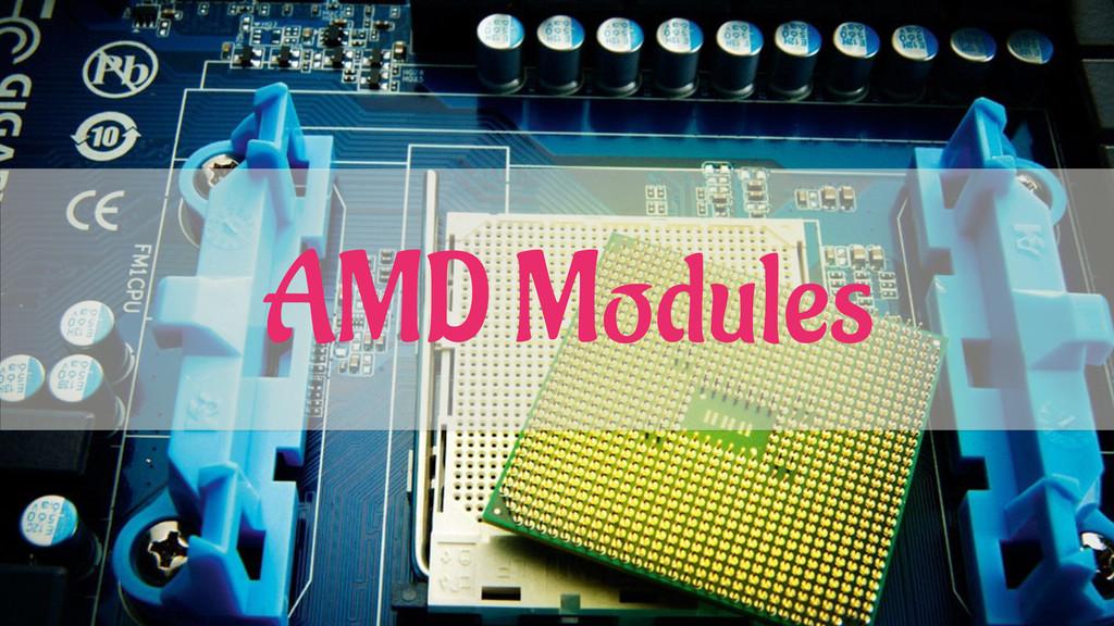 AMD Modules