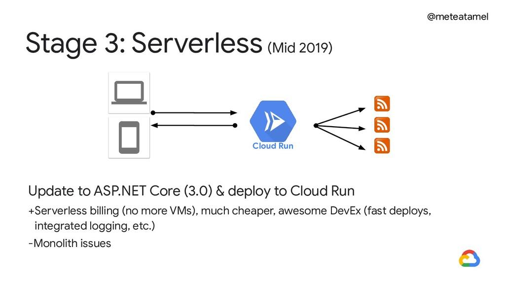 @meteatamel Update to ASP.NET Core (3.0) & depl...