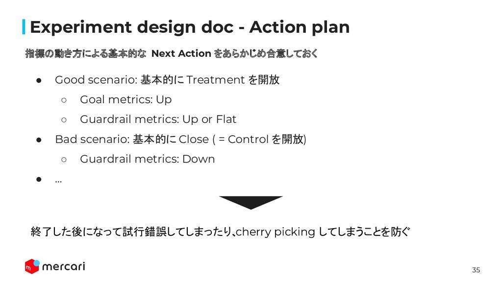 35 Confidential Experiment design doc - Action p...