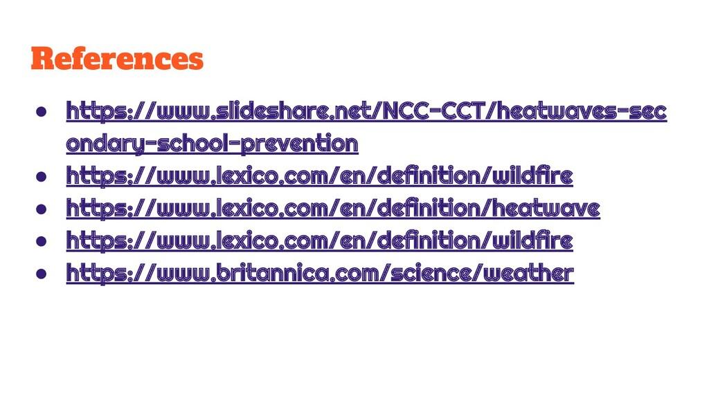 References ● https://www.slideshare.net/NCC-CCT...