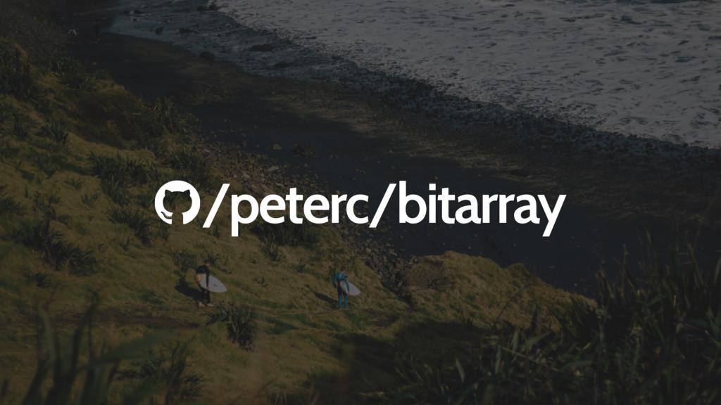 /peterc/bitarray