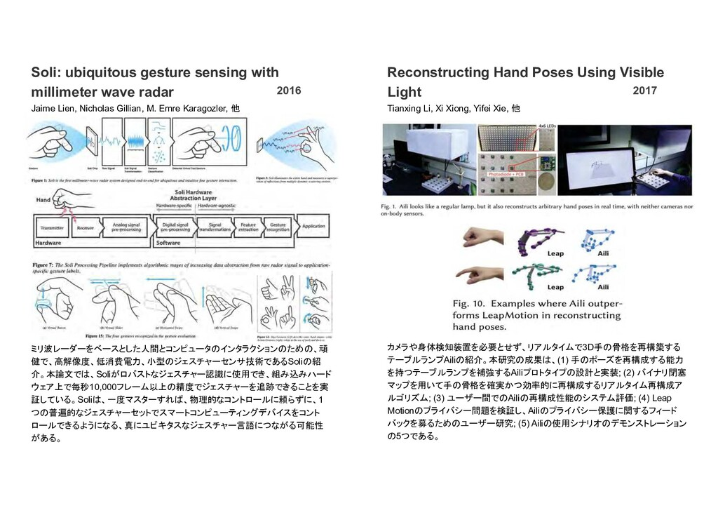 Soli: ubiquitous gesture sensing with millimete...