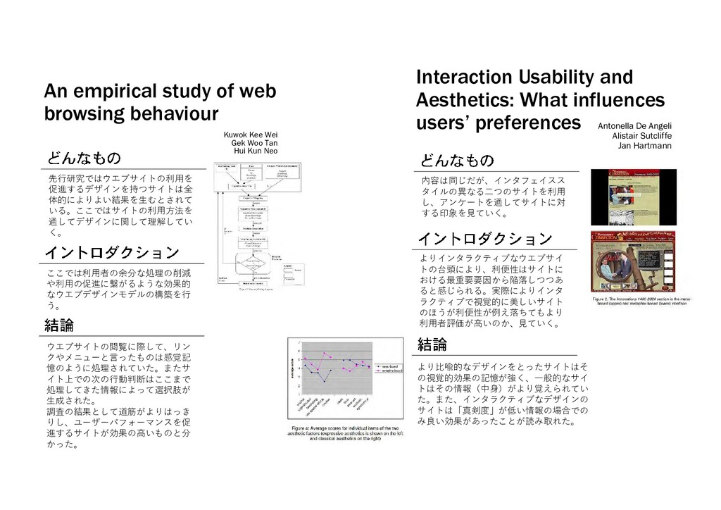 An empirical study of web browsing behaviour 先行...
