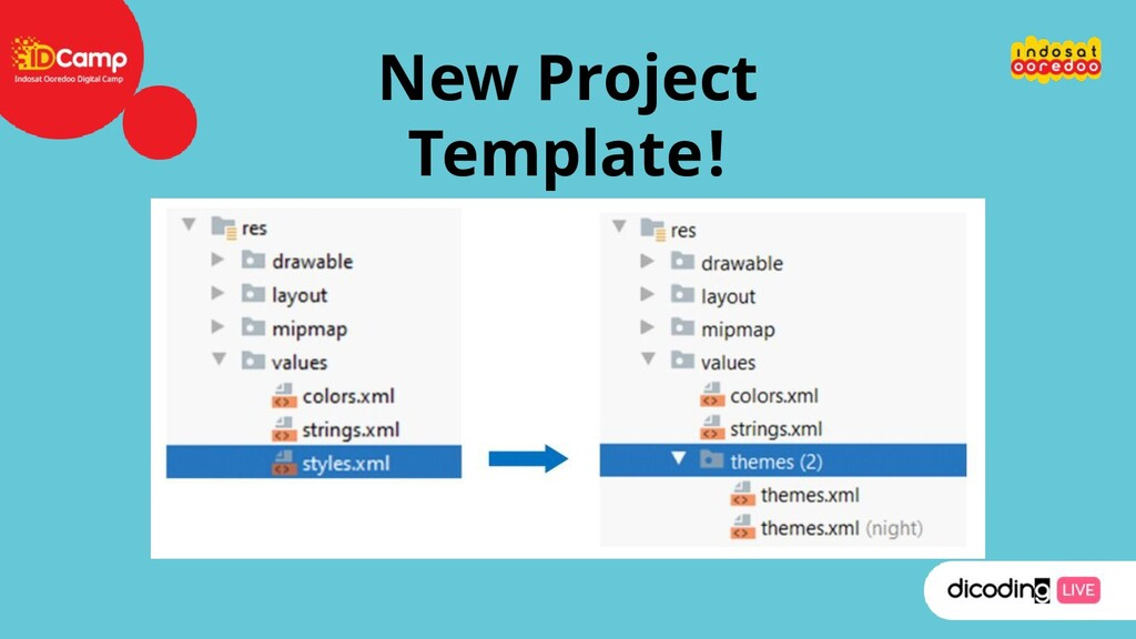 New Project Template!