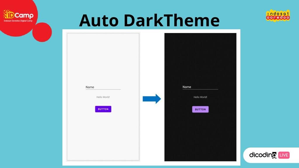 Auto DarkTheme