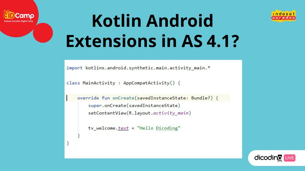 Kotlin Android Extensions in AS 4.1?