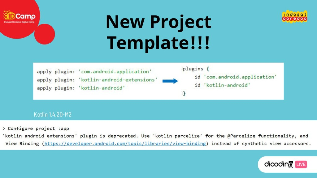 New Project Template!!! Kotlin 1.4.20-M2