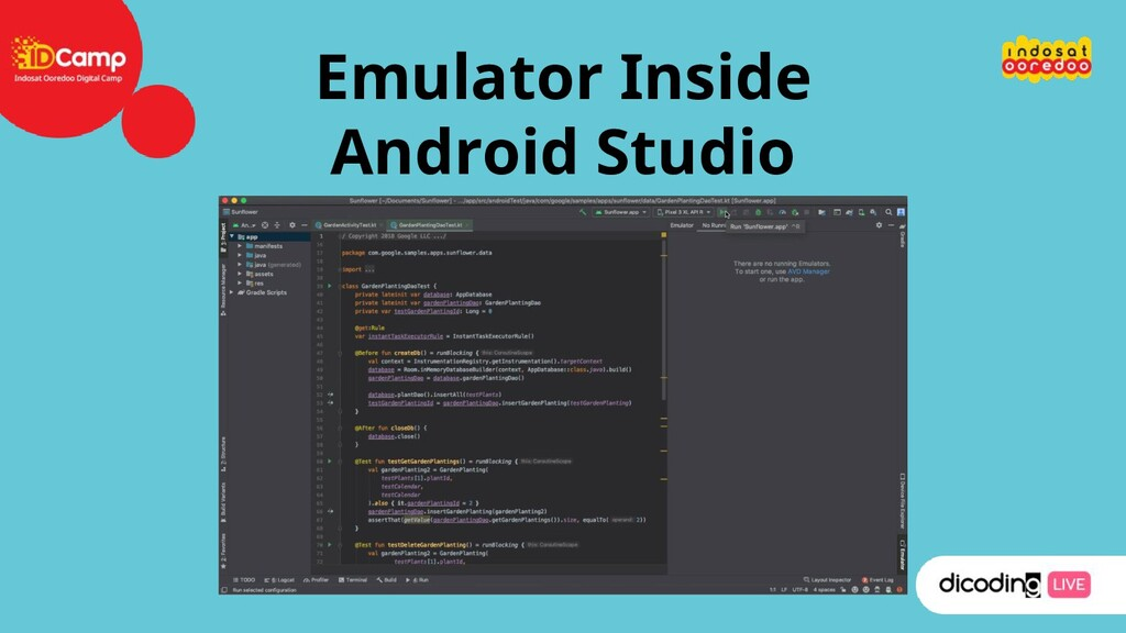 Emulator Inside Android Studio