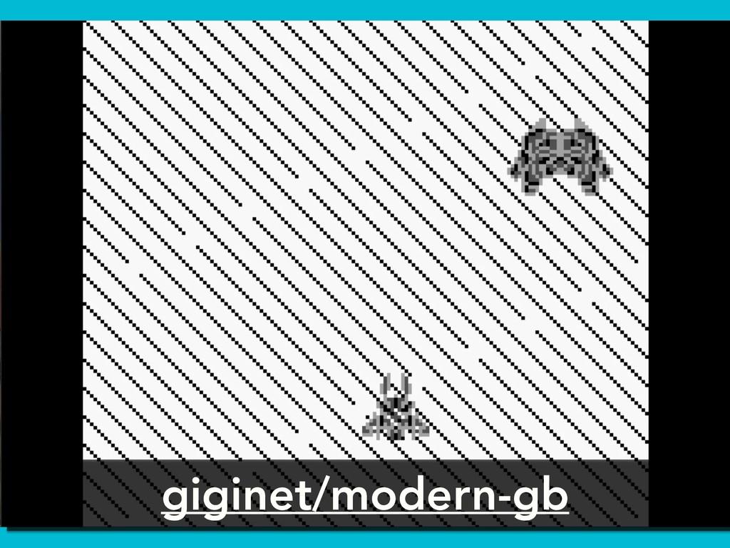 giginet/modern-gb