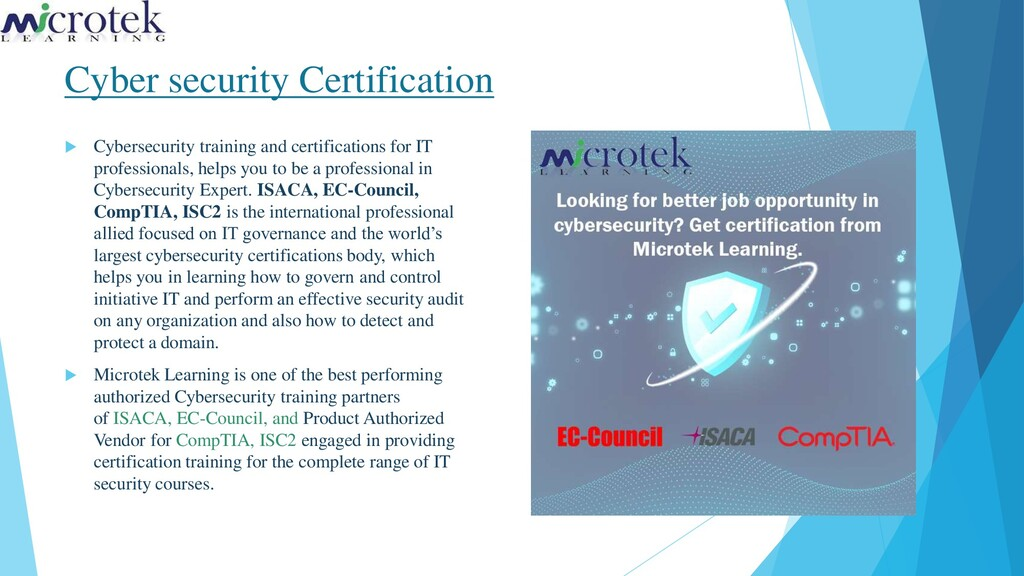 Cyber security Certification  Cybersecurity tr...