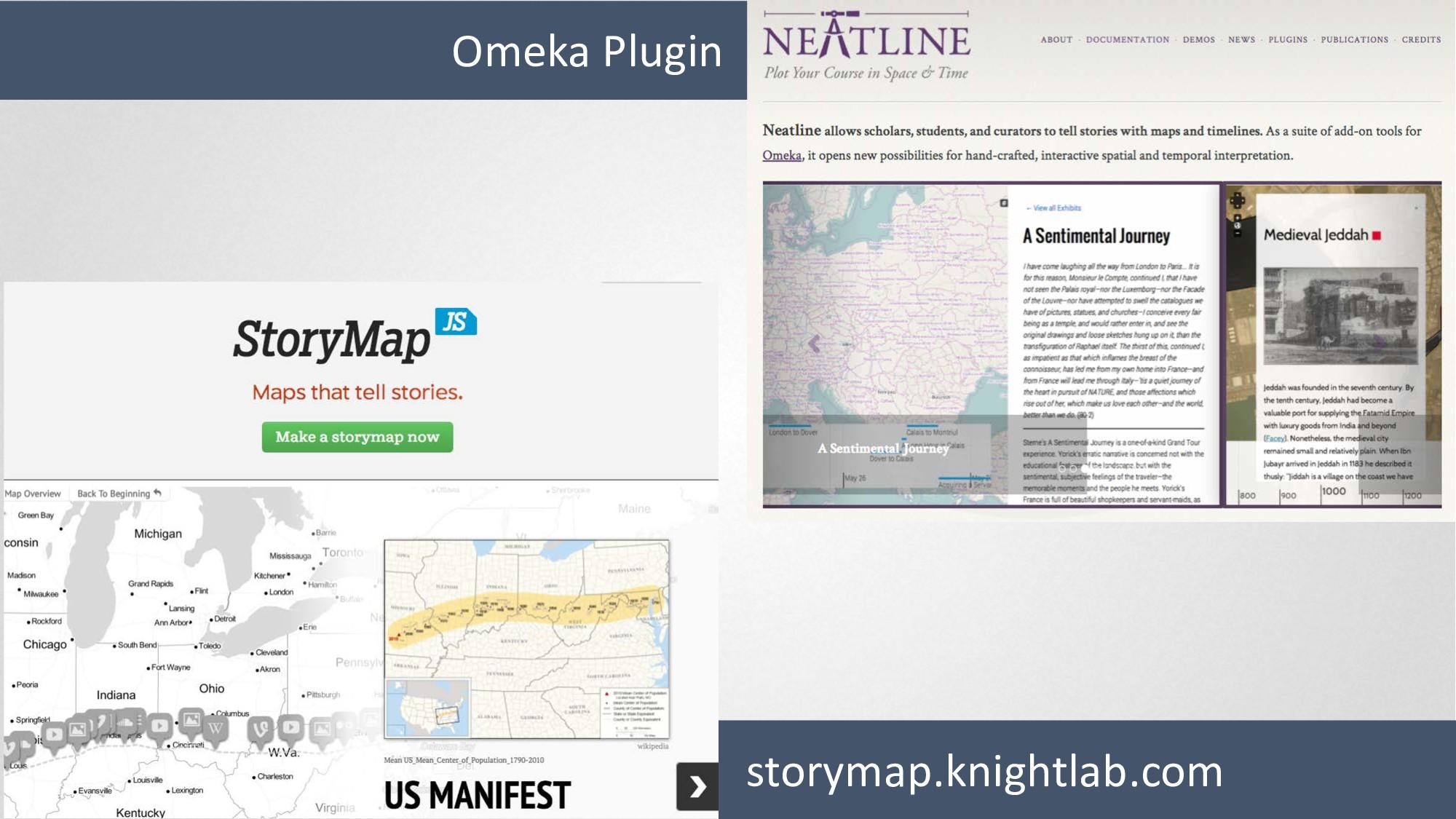storymap.knightlab.com Omeka Plugin