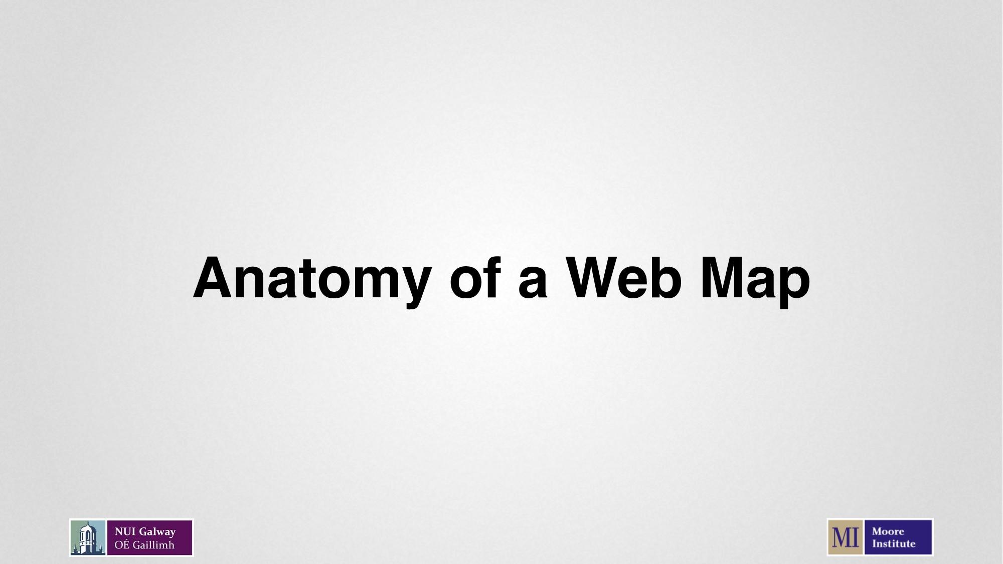 Anatomy of a Web Map