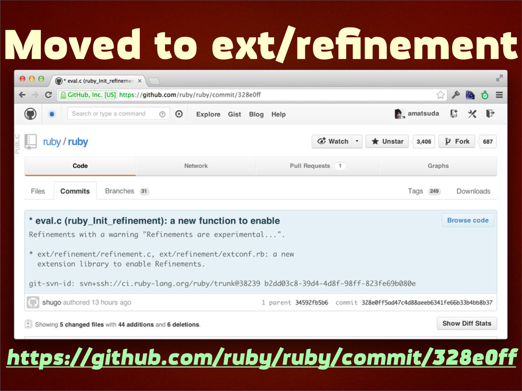 Moved to ext/refinement https://github.com/ruby/...