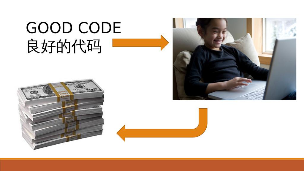 我不知道我 在做什么 GOOD CODE 良好的代码